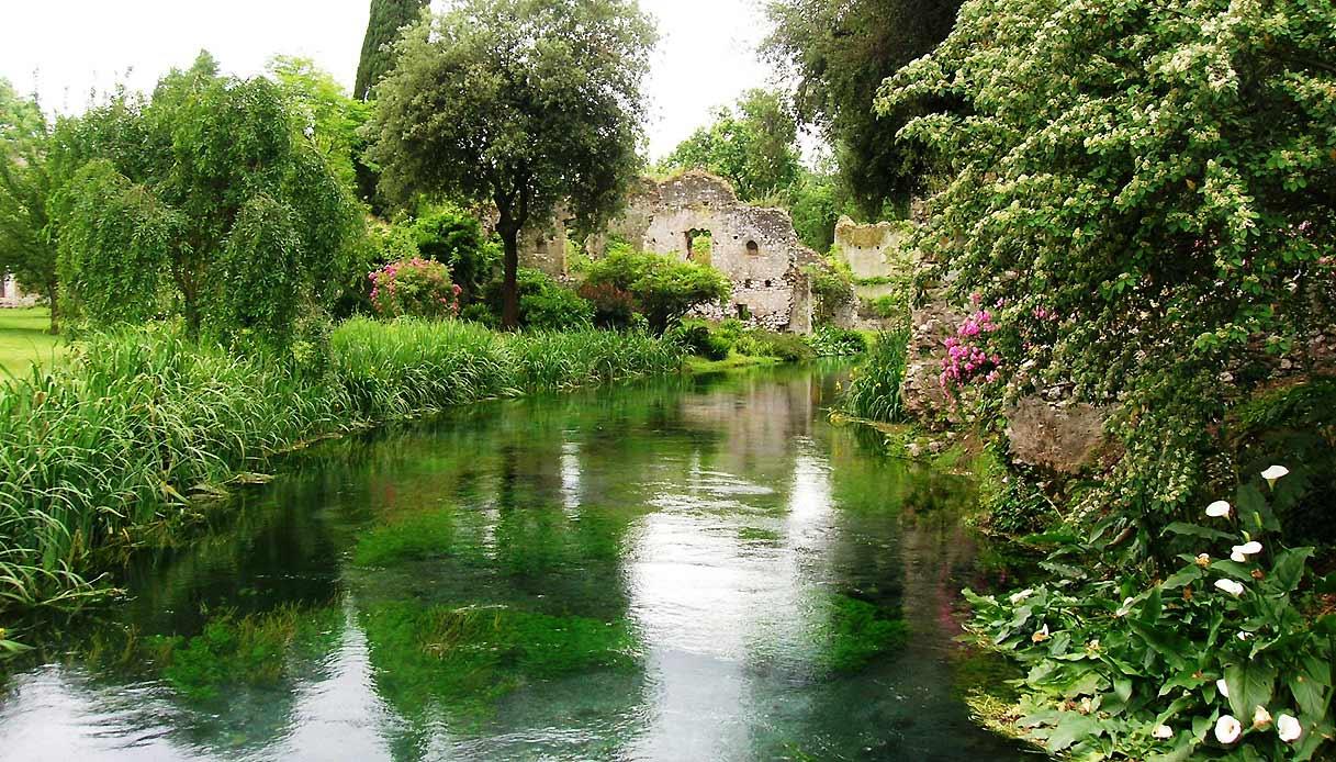 Come Fare Un Giardino Inglese il giardino di ninfa è il più bello del mondo   siviaggia