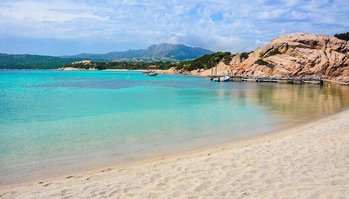 Cartina Spiagge Sardegna Nord.Costa Smeralda La Top 10 Delle Spiagge Piu Belle Siviaggia Siviaggia