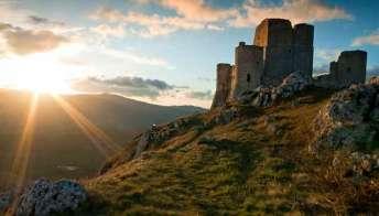 La natura montuosa dell'Abruzzo