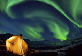 Lo spettacolo delle aurore boreali