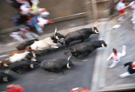 A Pamplona per il Festival di San Fermin