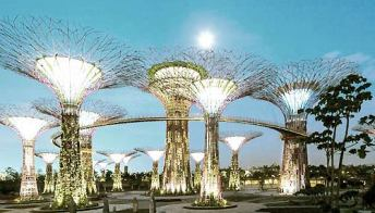 Il giardino più bello del mondo è quello sospeso di Singapore