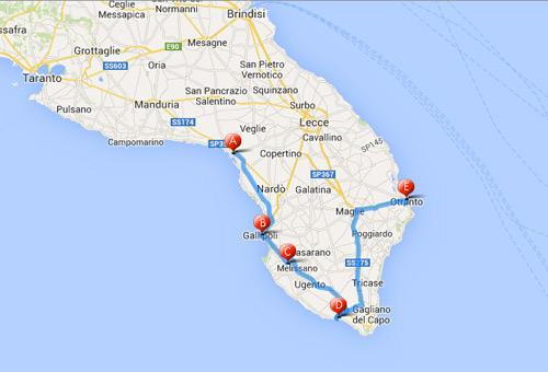 Cartina Spiagge Puglia Salento.Salento Le 5 Spiagge Piu Belle Delle Maldive D Italia Siviaggia Siviaggia
