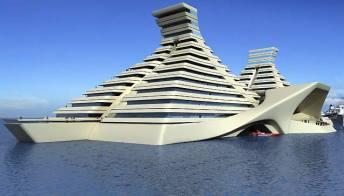 Messico, l'hotel a forma di piramide Maya