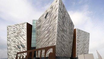 Belfast, apre il museo del Titanic