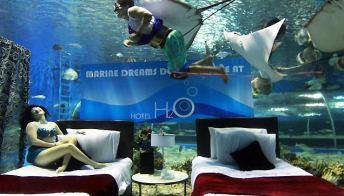 Filippine, un hotel nell'acquario
