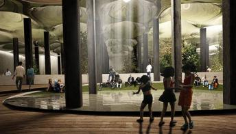 New York: un parco realizzato sottoterra