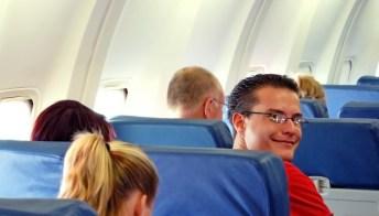Viaggi aerei, il passeggero perfetto