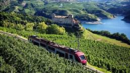 Il Trenino dei castelli del Trentino: le tappe più pittoresche
