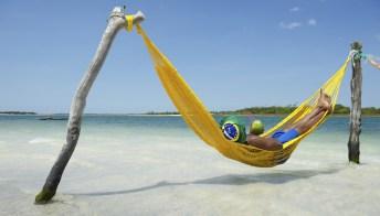 I brasiliani sono sempre in vacanza