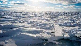Quest'estate via alla prima crociera che passa dal Polo Nord