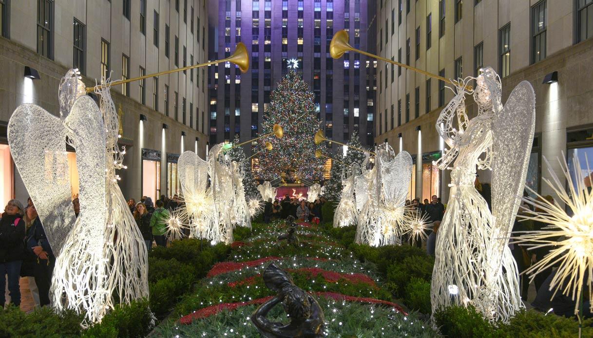 Albero Di Natale New York 2020.Natale E Capodanno A New York Ecco Cosa Fare Siviaggia