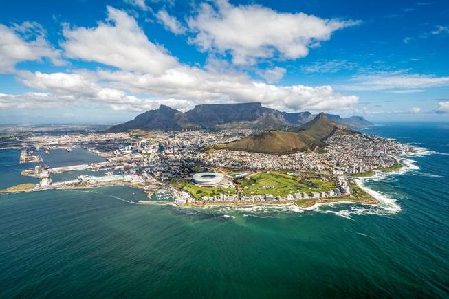 Vista di Città del Capo