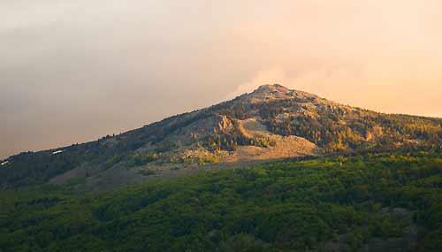 Monte Vitosha, nei dintorni di Sofia