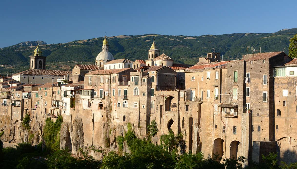 Il borgo di Sant'Agata de' Goti