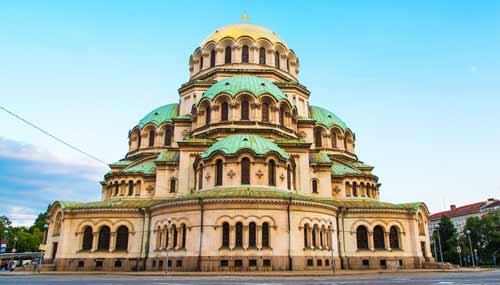 La Cattedrale di Alexander Nevski a Sofia