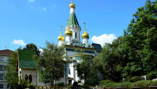 La Chiesa Russa di San Nicola a Sofia