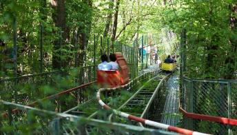 Treviso: Pioppi, un luna park nel bosco a energia zero