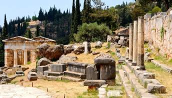 Grecia: scoperto il tempio dell'oracolo di Apollo