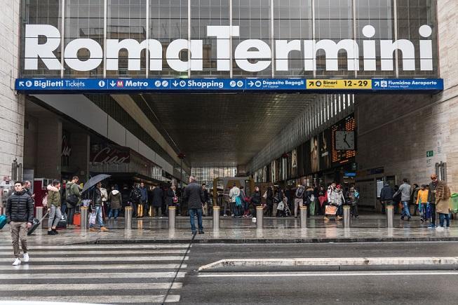 La Stazione Termini a Roma