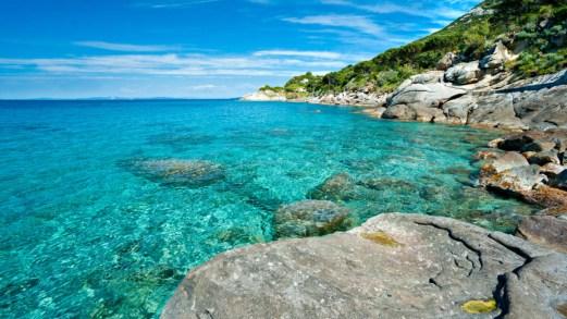 Spiagge per bambini all'isola d'Elba