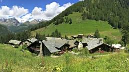 Il piccolo borgo di montagna fatto solo di chalet