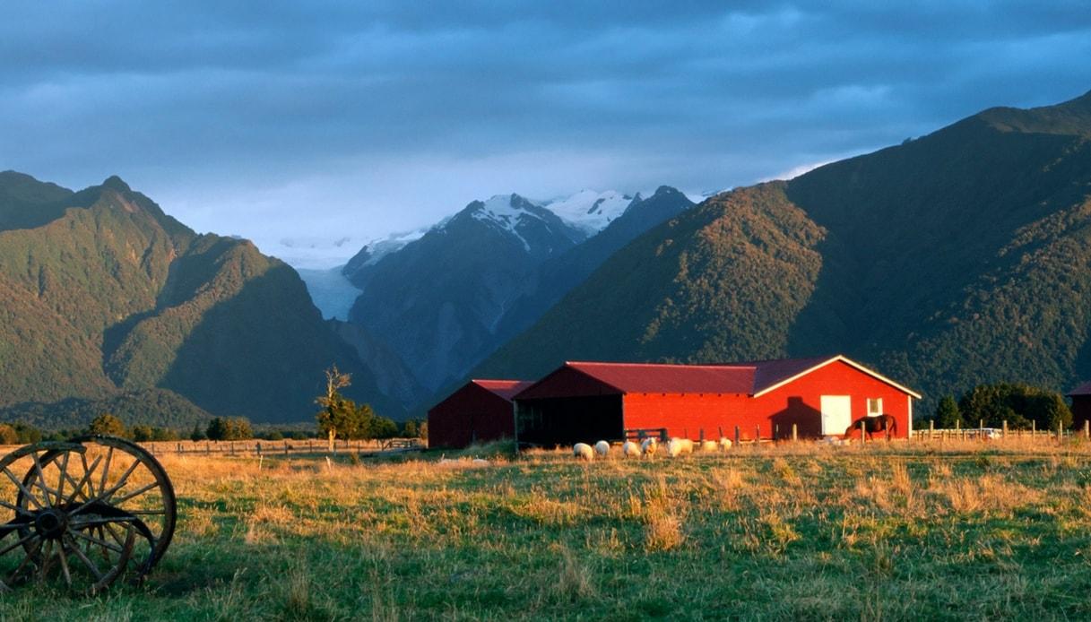 Vivere in un ranch in Nuova Zelanda