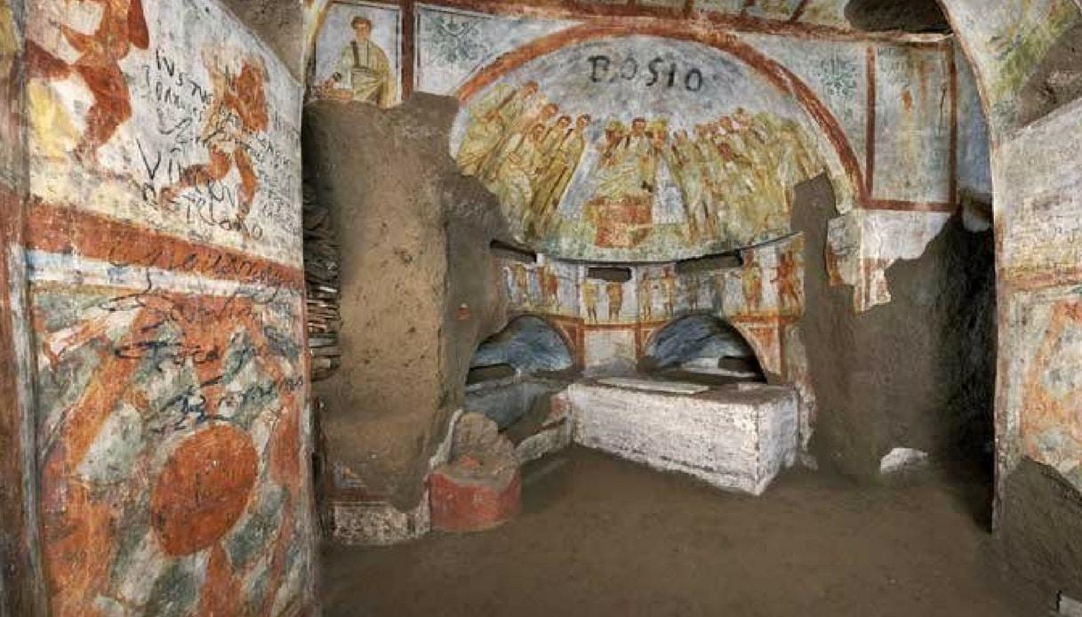 Nuovi ritrovamenti nelle catacombe più grandi di Roma