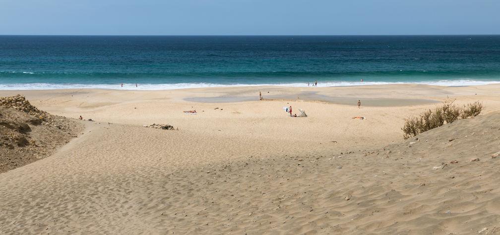 Spiaggia di El Castillo a Fuerteventura