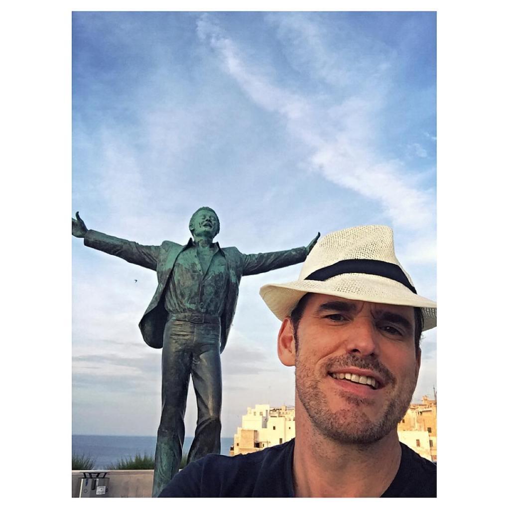 Matt Dillon a Polignano al Mare