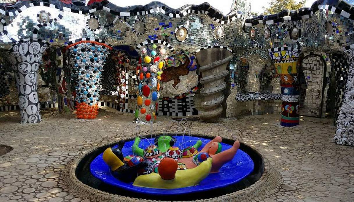 Giardino dei Tarocchi Gaudì