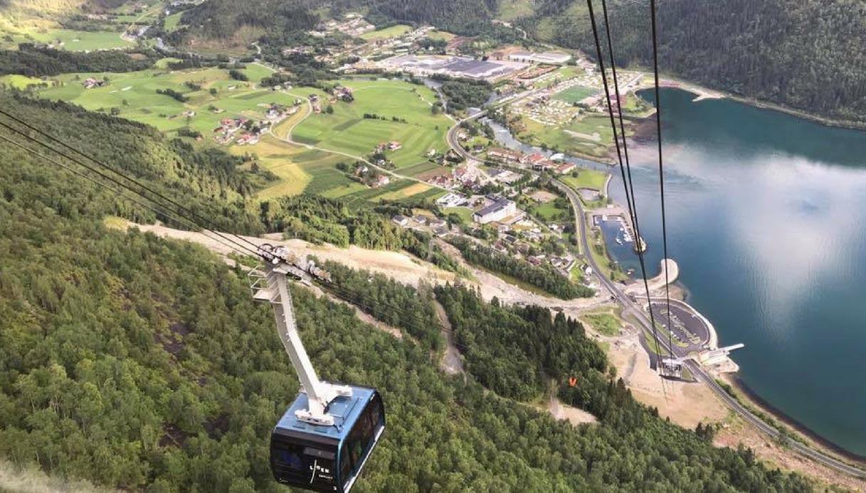 Loen Skylift Norvegia