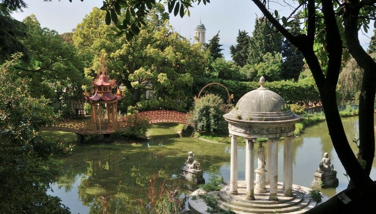 È a Genova il parco pubblico più bello d'Italia