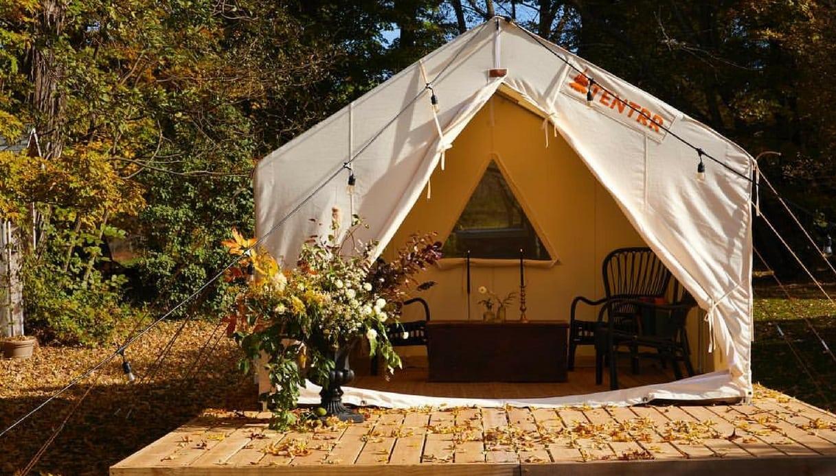 Tentrr: ecco il sito che rivoluziona le vacanze in tenda