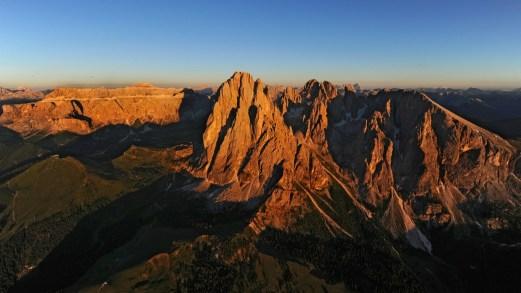 Burning Dolomites: osservare il tramonto in Val Gardena