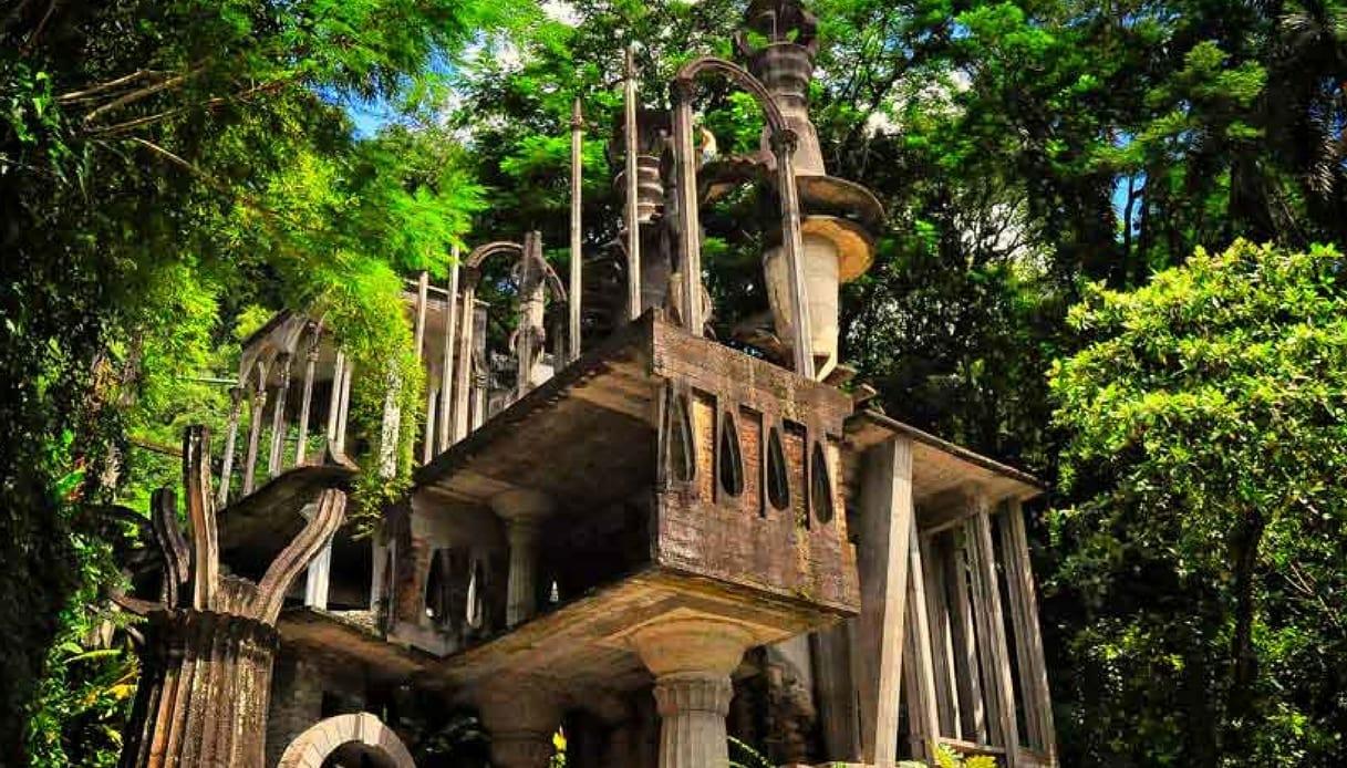 giardino surrealista nel cuore del Messico