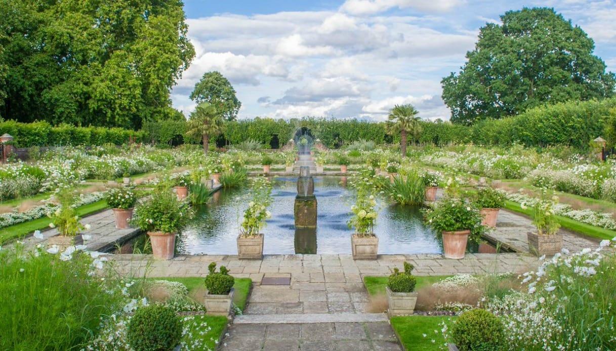 White Garden in memoria di Diana-