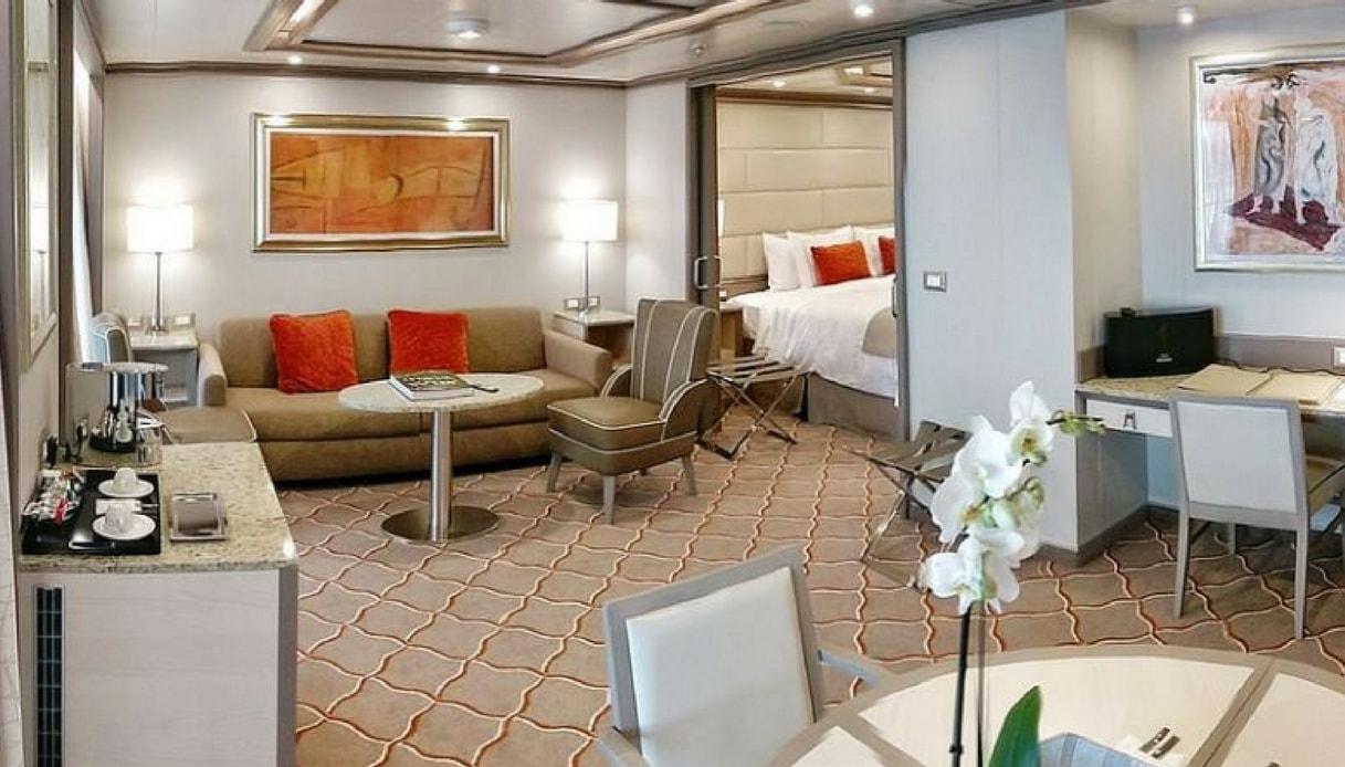 Camere Da Letto Piu Belle Del Mondo cabine-suite e maggiordomo personale: la crociera più chic