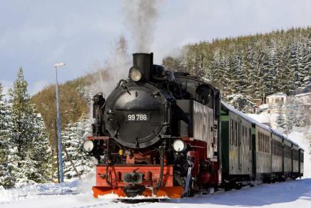 Tra i Mercatini di Natale a bordo di un treno a vapore