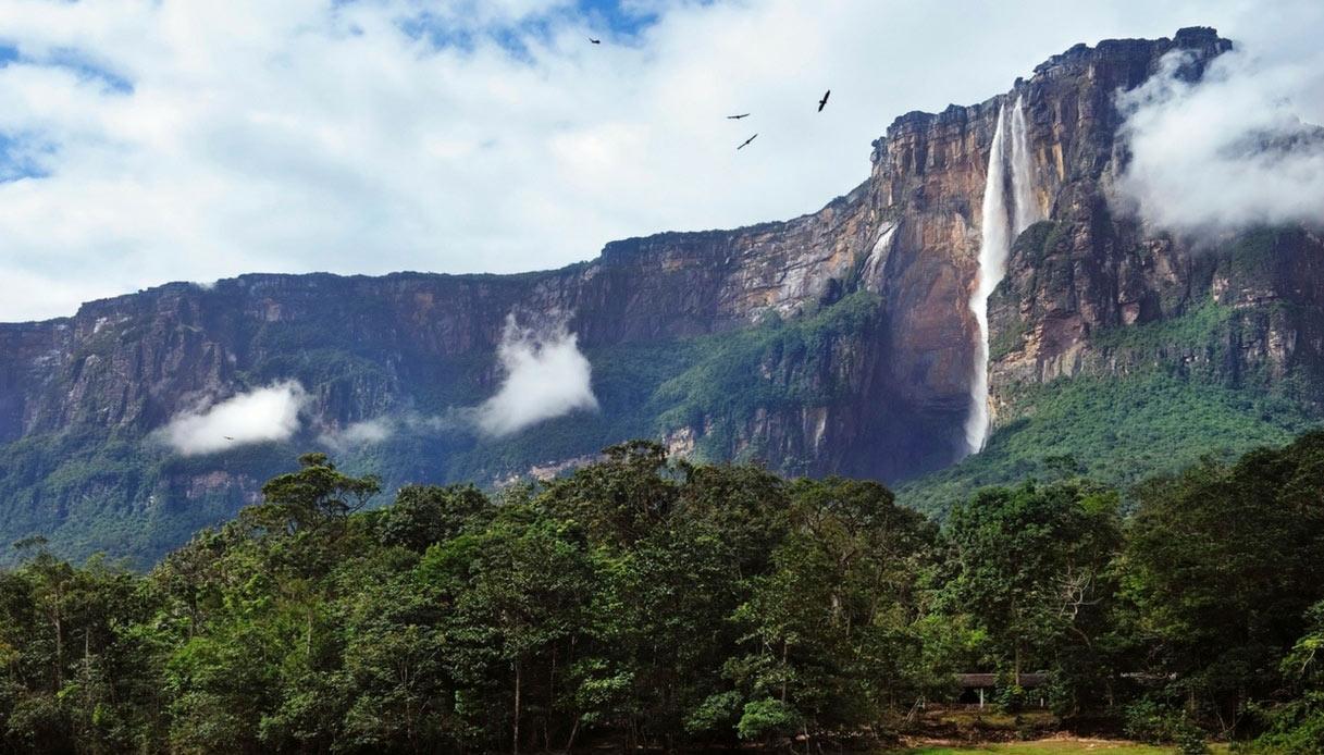cascata più alta del mondo