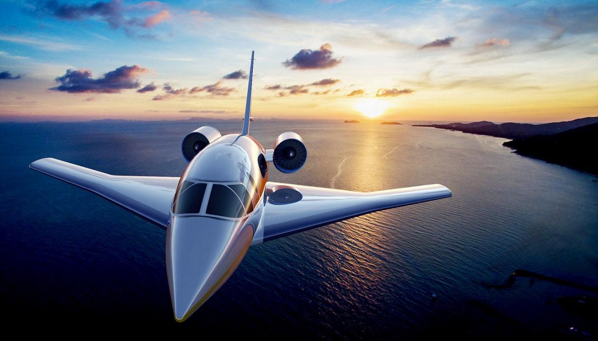 Concorde da Londra a New york in 3 ore