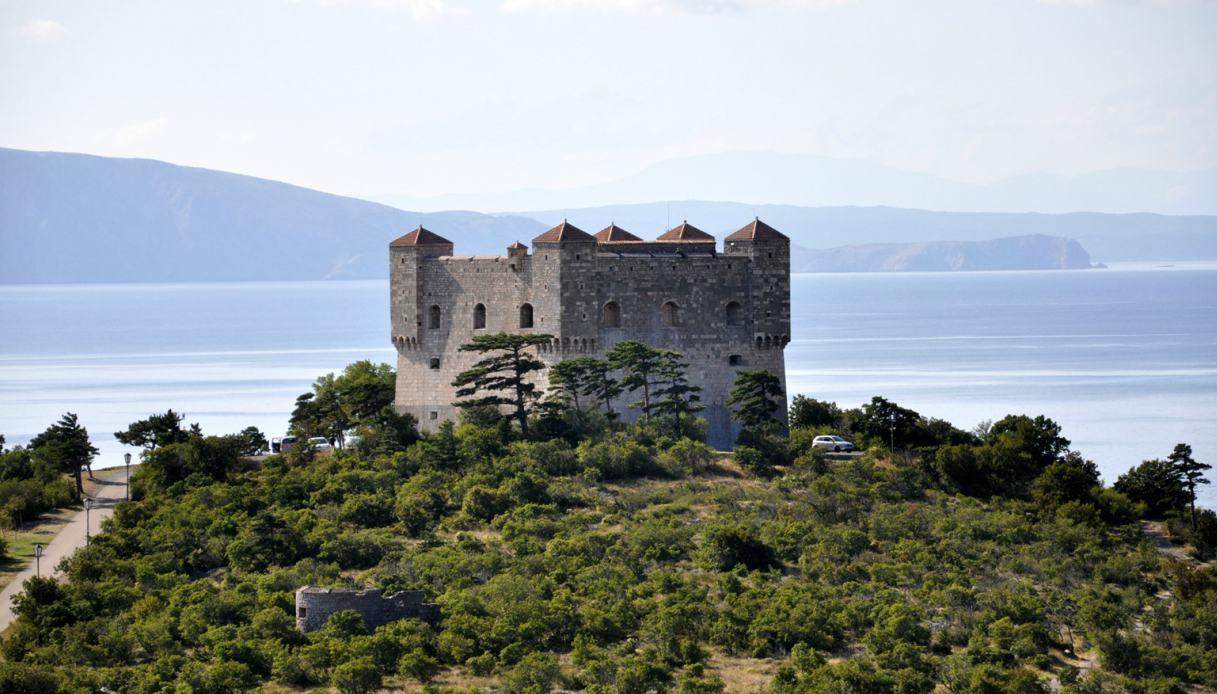 Castello di Nehaj a Senj in Croazia