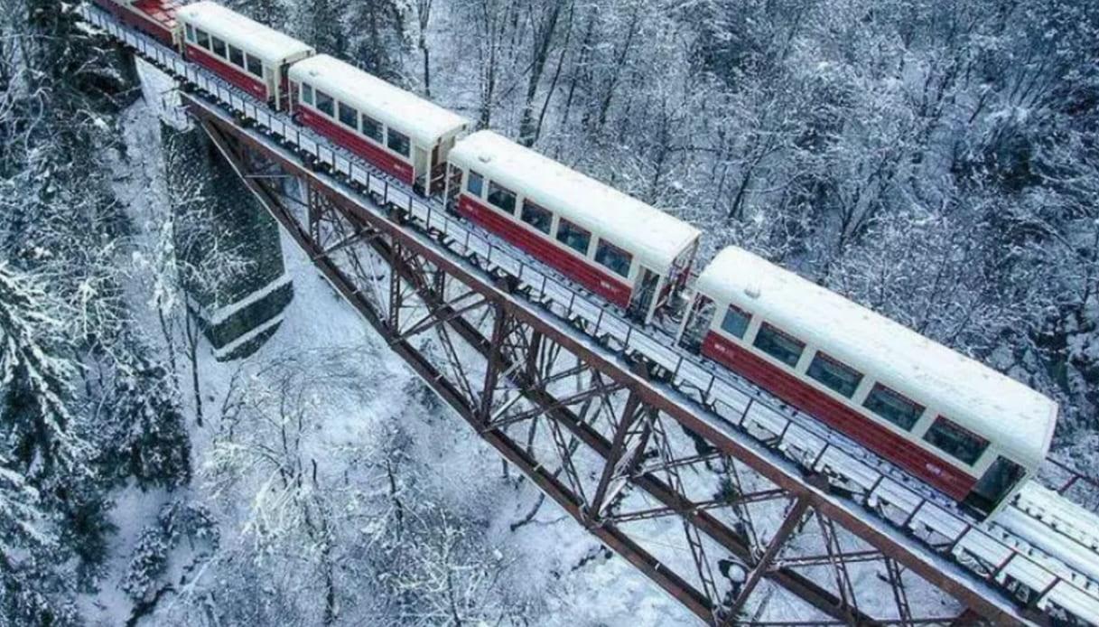 Georgia, il ponte ferroviario costruito tra Gustave Eiffel