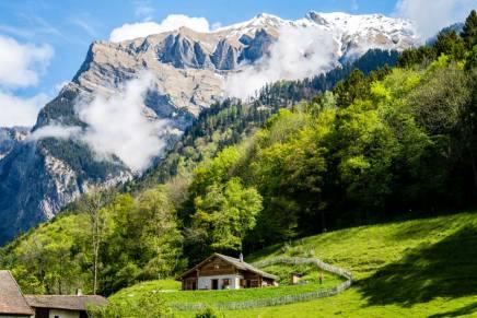 A casa di Heidi a bordo del Trenino Rosso del Bernina