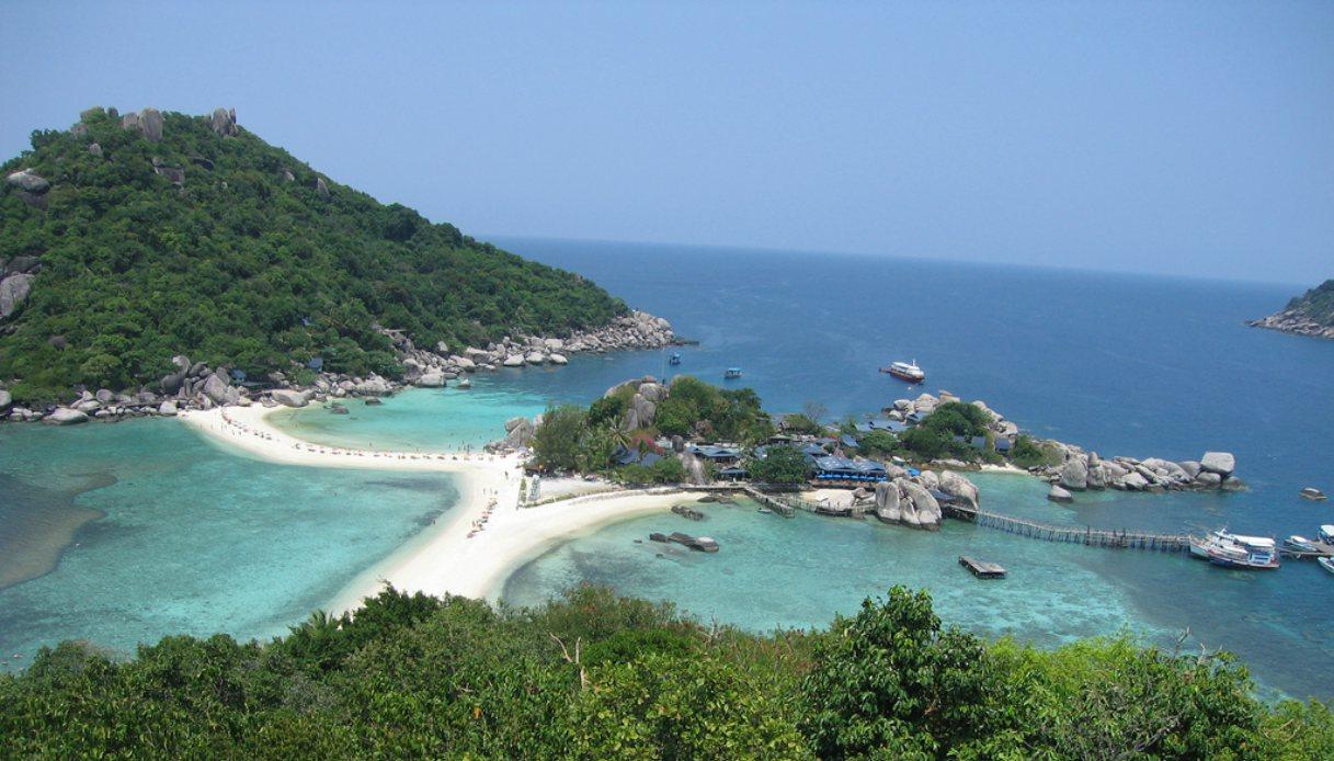 Koh Nang Yuan, isola della Thailandia