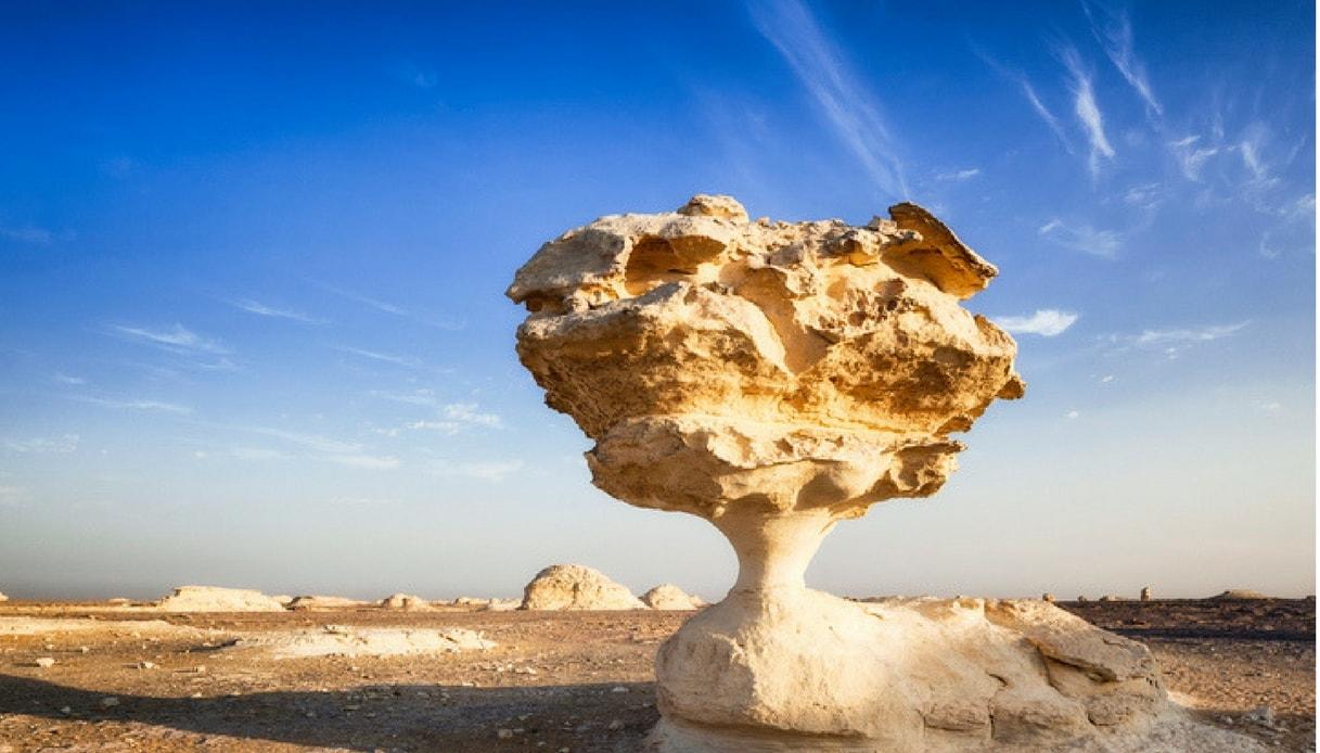 Sahara El Beyda il deserto bianco in Egitto