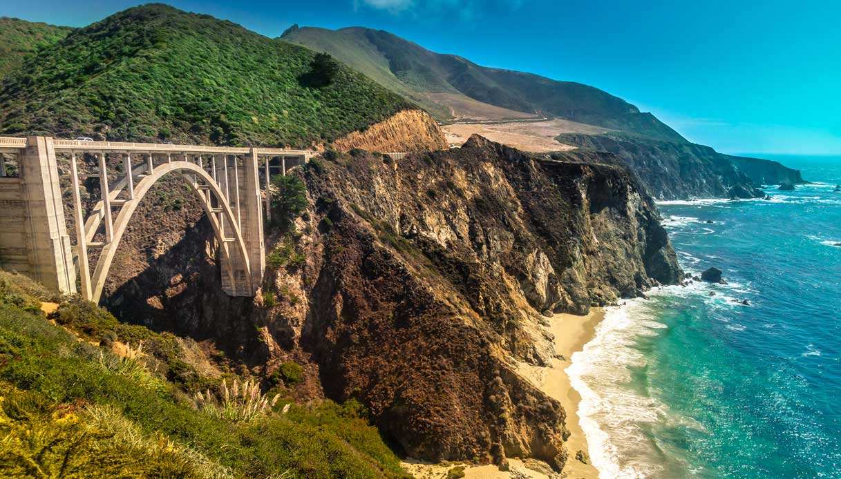 Bixby Creek Bridge california Big Little Lies