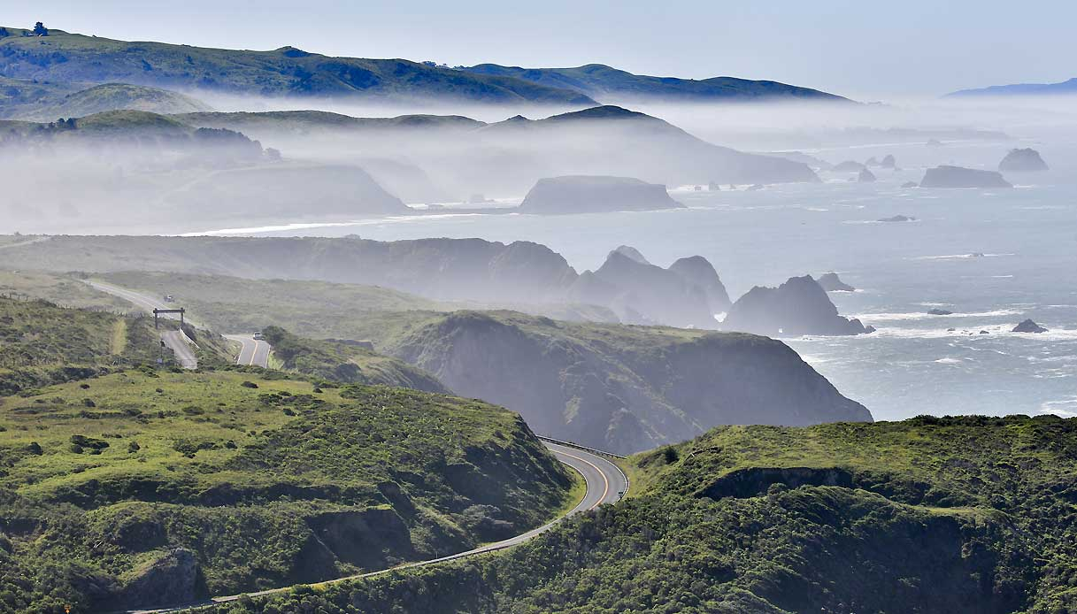 highway 1 california big sur strada panoramica