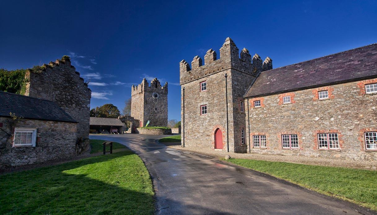 luoghi reali Winterfell Trono di spade Irlanda Castle Ward