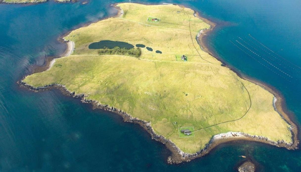 Linga, l'isola scozzese in vendita